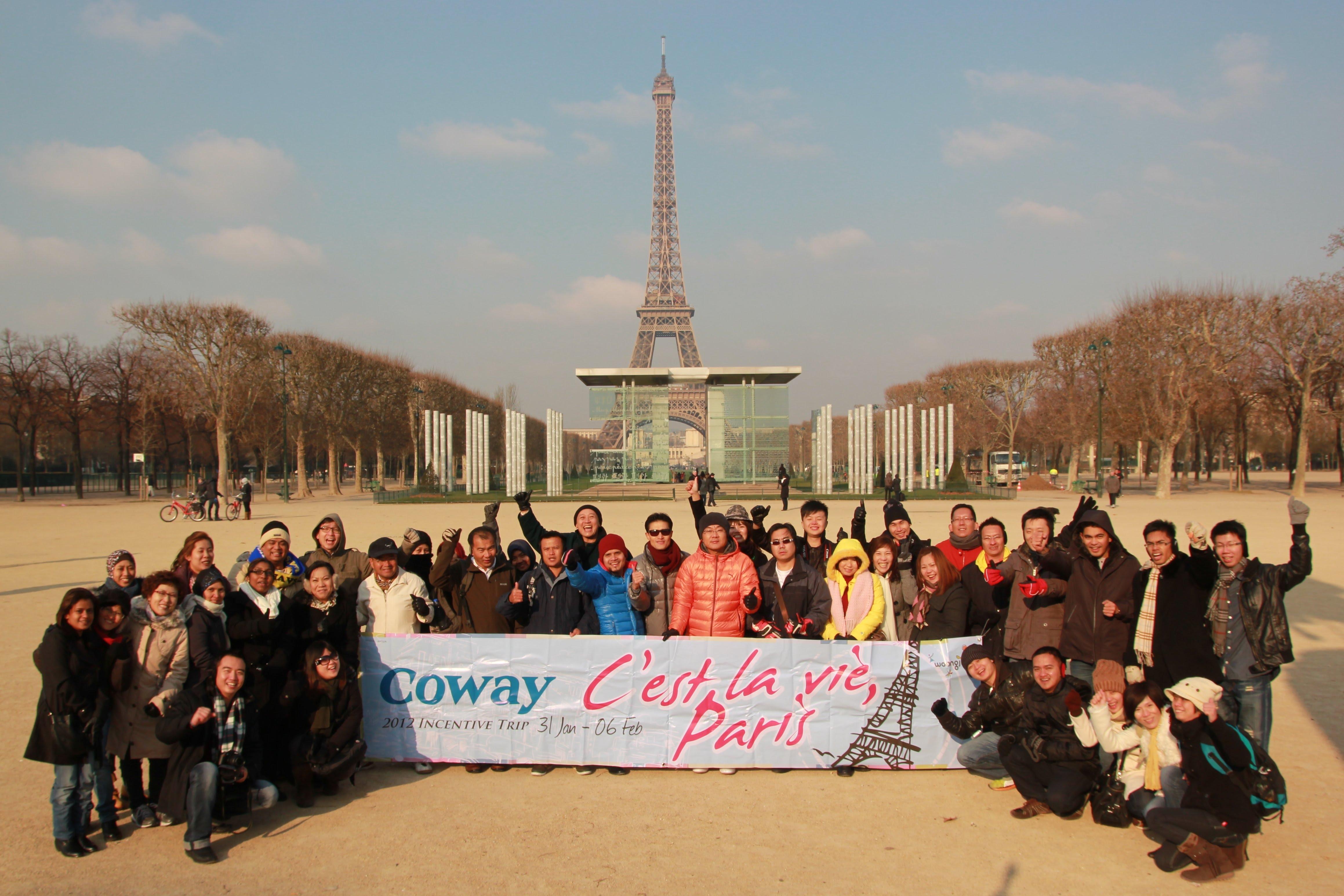Coway Malaysia Paris Trip
