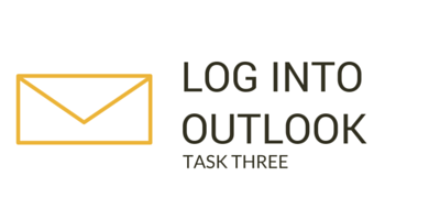 Task 3: Log into Outlook