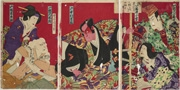 The scene Kumagai Jin'ya from the play Ichinotani Futaba Gunki