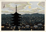 Yasaka Pagoda, Moonlit Night