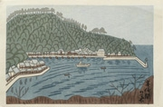 Mihonoseki from an untitled series of scenic views of Japan