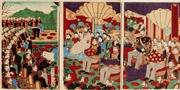 Illustration of the Ceremony for the Promulgation of the Constitution of Great Japan