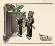 Komusō from the portfolio Japanese Life and Customs A Set of Six Pictures