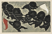 Untitled (Children Playing Tug of War)