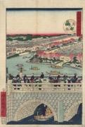 Mansei Bridge from the series Pride of Tokyo Area, Comparison