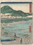 Odawara from the series Tōkaidō Road