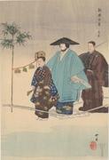 Nōgaku hyakuban, Torioibune