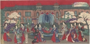 Illustration of the Second National Industrial Exhibition at Ueno Park
