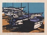 White Fishing Boat