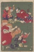 Kyōsai hyakuzu, Watōnai, Mastre of Papier Mache