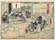 Producing Uji Tea in Yamashiro Province, figure 2 from the series Dai Nippon Bussan Zue (Products of Greater Japan)
