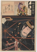 Onoe Kikugorō V as Shinohara Kunimoto from the series One Hundred Roles of Baikō