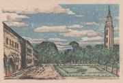 Sapporo, Main Promenade, No. 3 from the portfolio Scenic Views of Sapporo Hand-printed Woodblock Collection, Volume 1