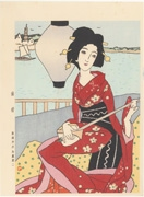 Rantō (Dutch Lantern) from the series Yumeji's Masterpieces