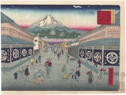 Suruga-chō (No. 30) from the series Thirty-six Views of Tokyo