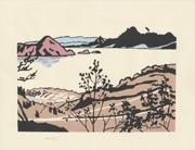 Tōyako and Usuzan from the series Collection of Woodblock Prints Scenery of Japan, Shinshū by Miyata Saburō by Miyata Saburō, 1971