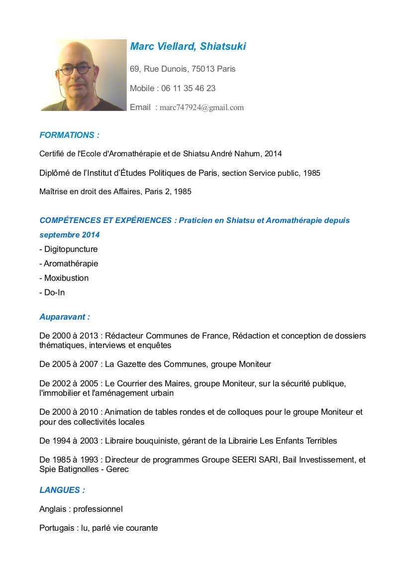CV Marc Viellard