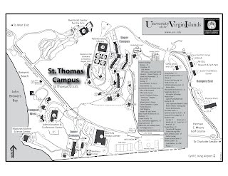 Campus maps   UVI VOICE