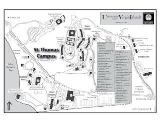 Campus maps   UVI VOICE