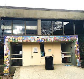Entrance fo Kennedy Middle School