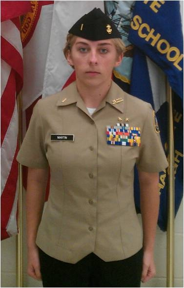 Navy service dress white medal placement on scout