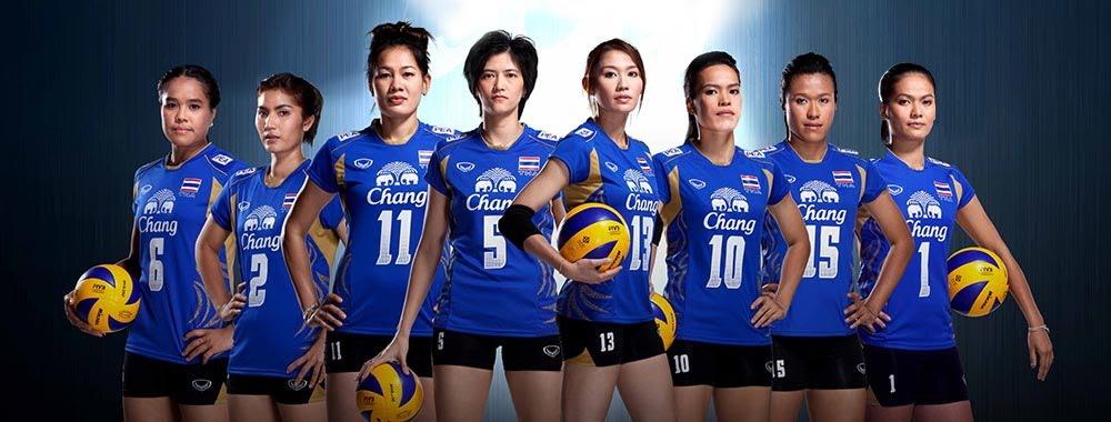 วอลเลย์บอลหญิงทีมชาติไทย - biggyhaody