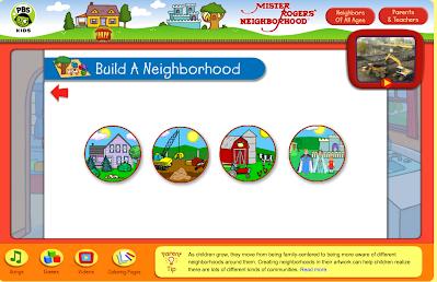 http://pbskids.org/rogers/buildANeighborhood.html