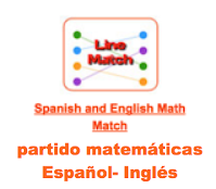 http://www.learninggamesforkids.com/vocabulary-games/foreign-languages/spanish-and-english-math-match.html