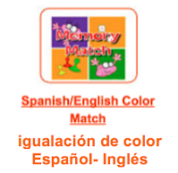 http://www.learninggamesforkids.com/vocabulary-games/foreign-languages/spanish-english-color-match.html