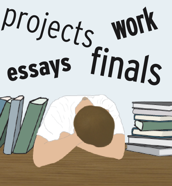 essay on stress on college students