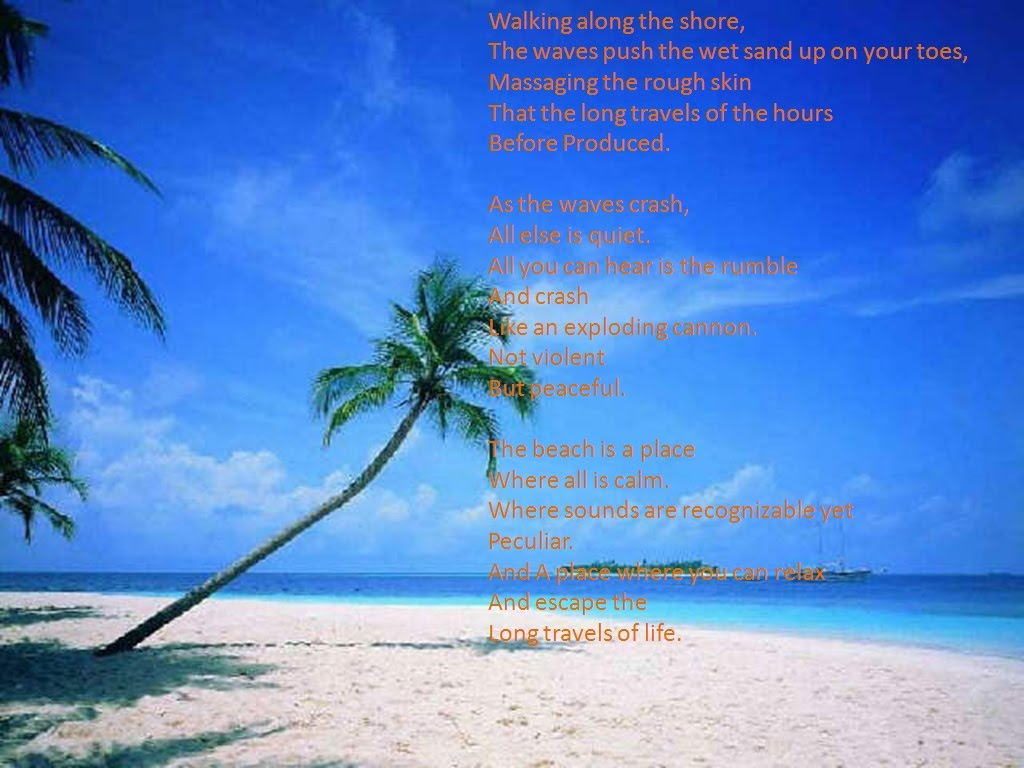 Free Verse:The Water - Ms. Brown's Poetry Page