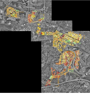 Georeferenced CAD layer of NCSU Campus - Chase\'s GIS Portfolio