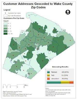 Geocoding Tabular Data