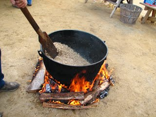 cracklings cooking picture