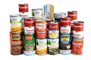 canned food items