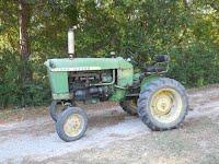 john deere antique tractor