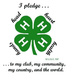 4-H pledge logo