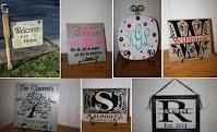 Judy Garrett - vinyl lettering