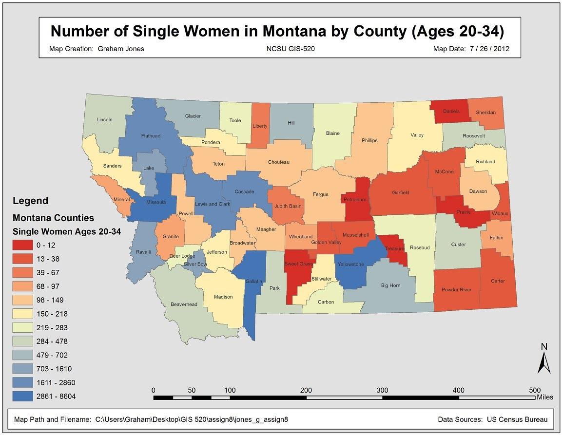 Census Data Ncsu Gis 520 Advanced Geospatial Analytics - Us-census-data-map