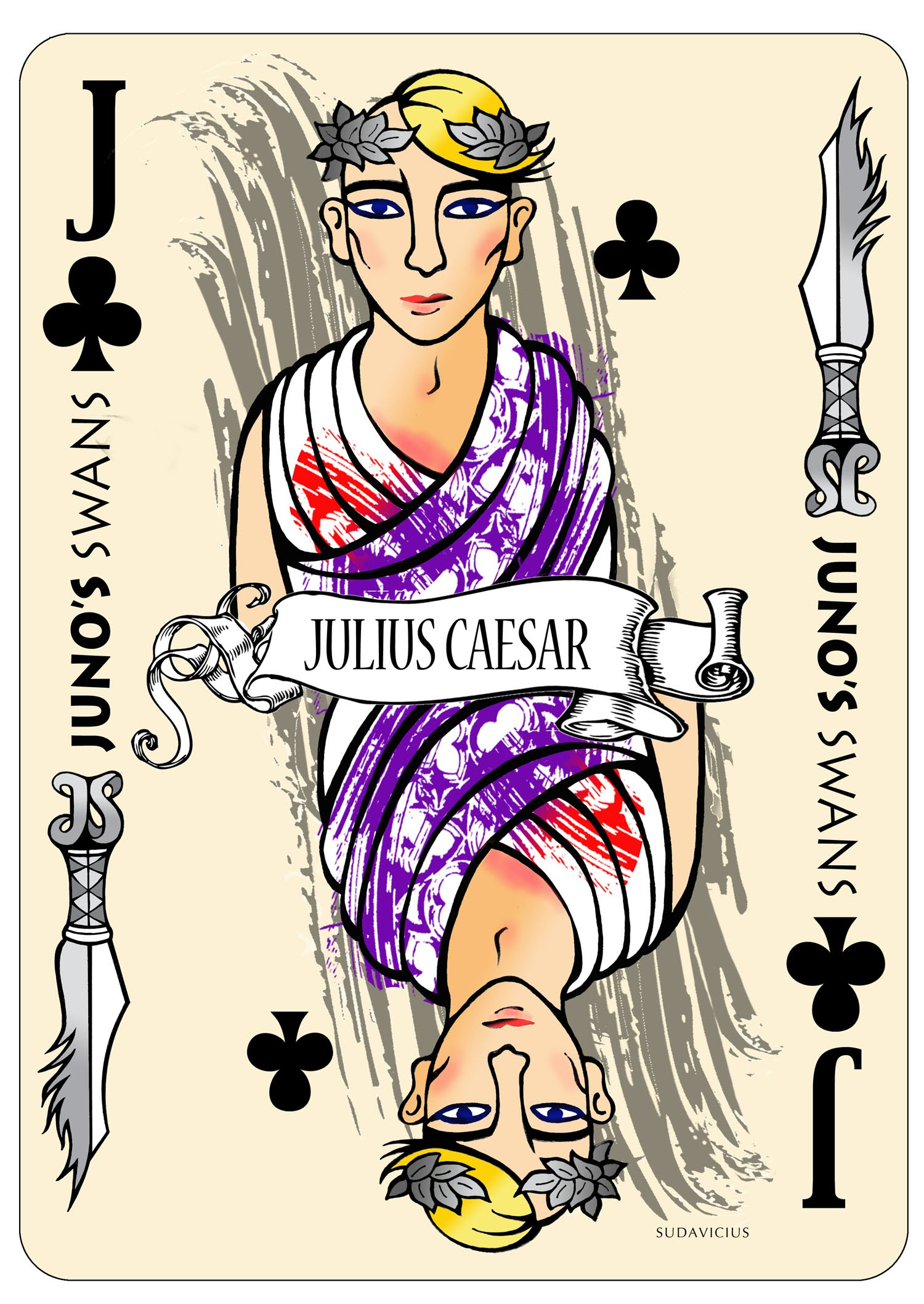 Assassination Of Julius Caesar Cartoon