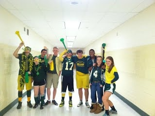 Picture of Students on Spirit Day