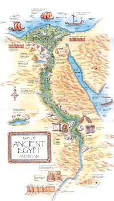 Ancient Nubia Dr Schwartzs Th Grade History Site - Map of egypt nubia