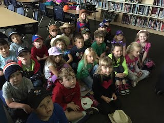 Kindergarten Hat Day and Storytime