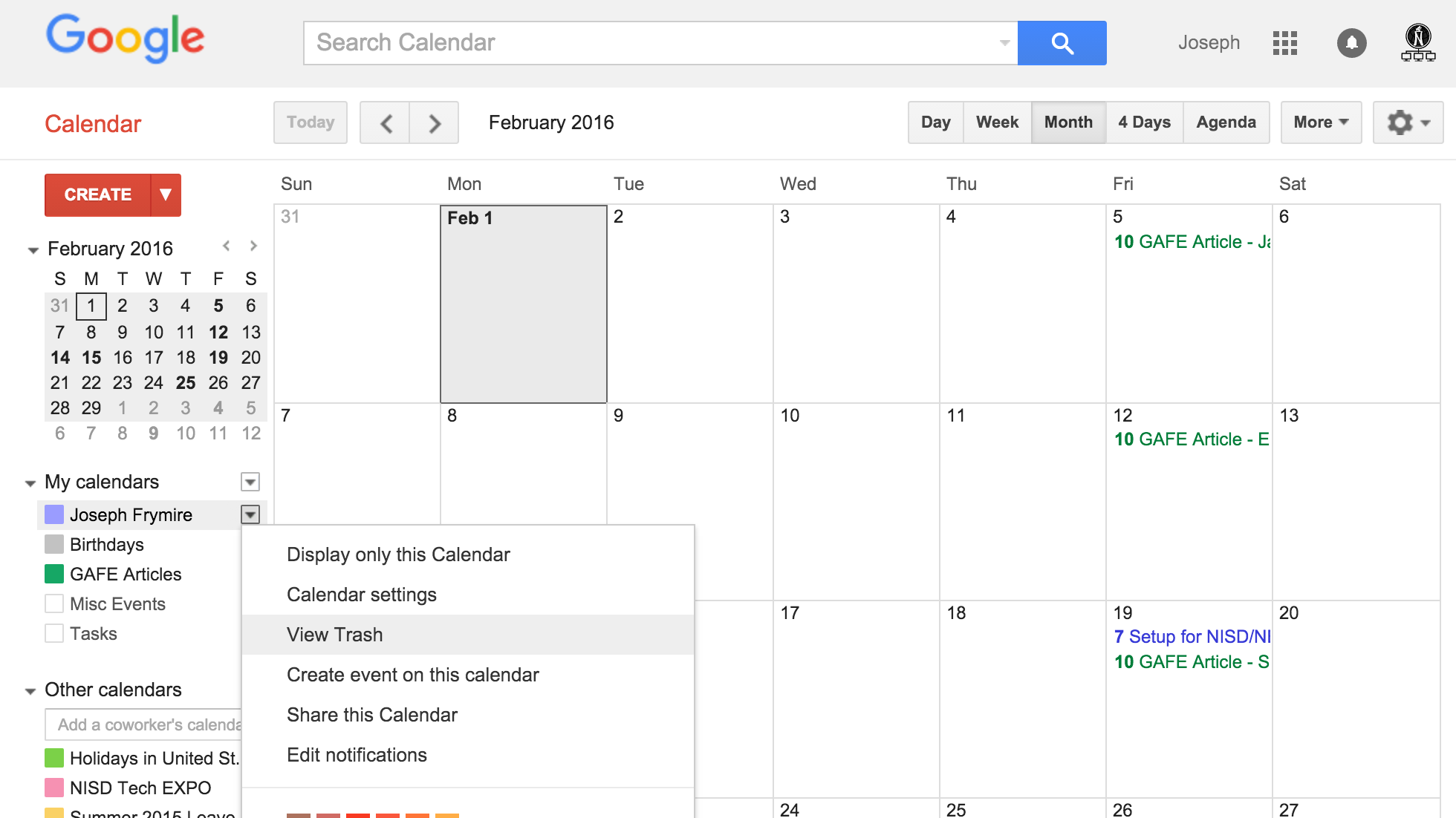 Restore Deleted Events In Google Calendar Google Apps For Nisd