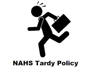 NAHS Tardy Policy
