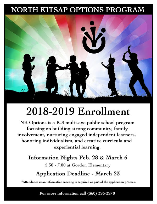 2018-2019 School Year Options Enrollment Inforamation