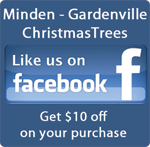 Minden - Gardenville Christmas Trees