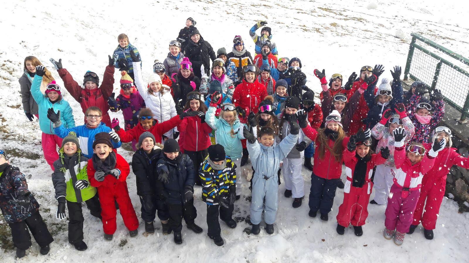 Classe de neige des CM2