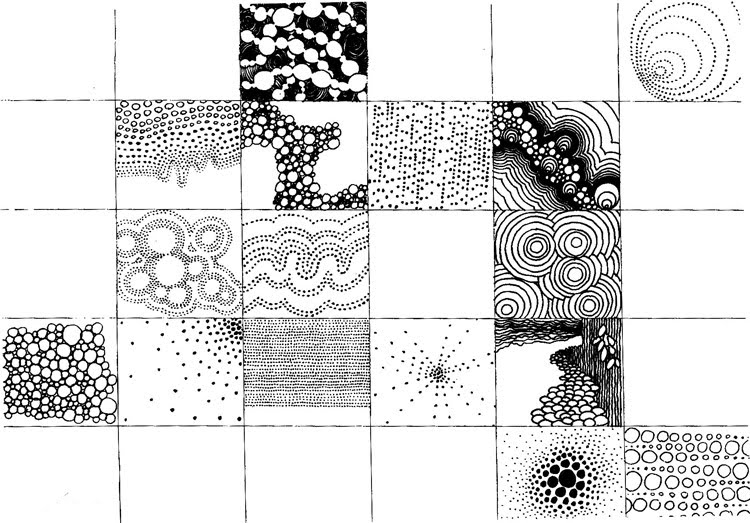 Pattern practice mjs ks2 art pencilpatterns cloud expert