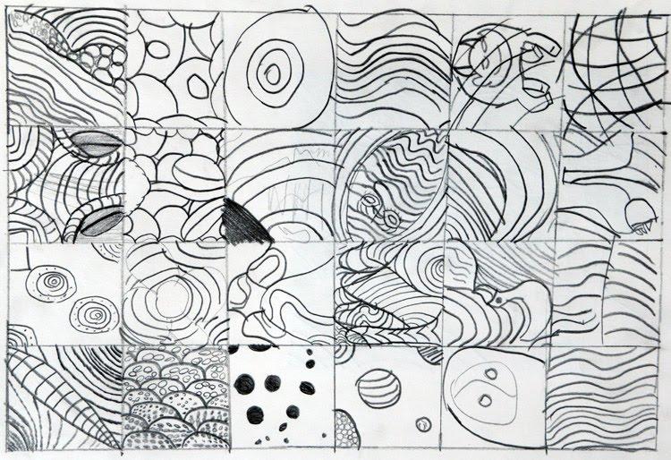 Line Art Ks2 : Pattern practice mjs ks art pencilpatterns cloud expert